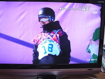 ソチ オリンピック スノーボード トンテリ 編み物