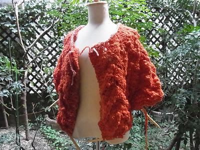 柴田淳 ネックから編むセーター 毎日あみもの チャビー