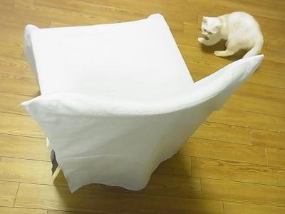 椅子カバー ハンドメイド ソーイング