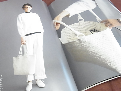 上質バッグと帽子 マニラヘンプ