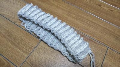 パリジェンヌの編み物 ブリオッシュ編み