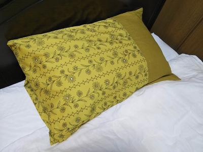 リネン ハギレ 枕カバー