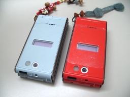 二つの携帯