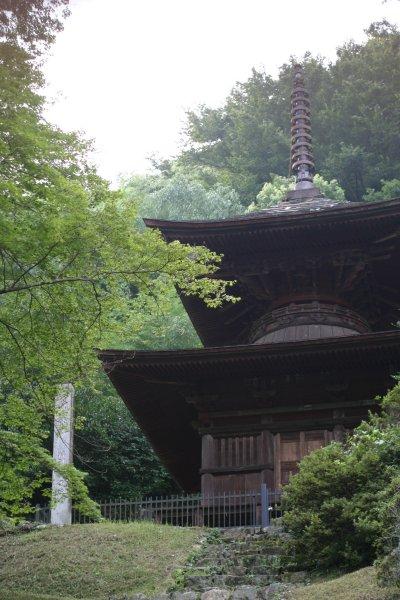 金鑚(かなさな)神社・多宝塔