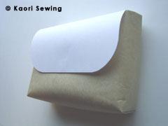 paper bag gusset 6cm side
