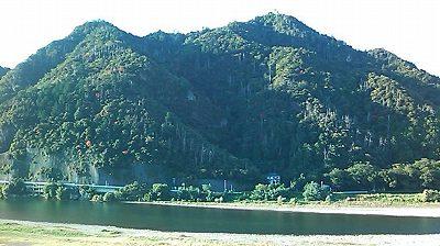 長良川と岐阜城