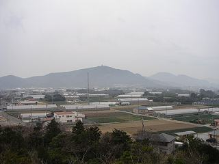 笠山から蔵王山
