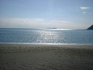大分の海岸
