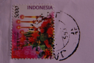 インドネシアからの手紙