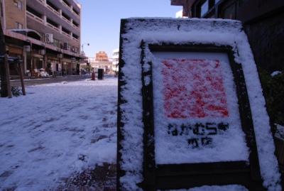 豊橋 なかむら屋本店 雪