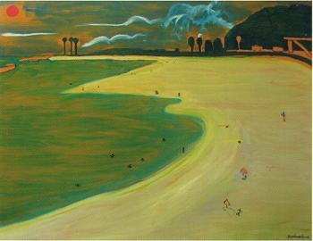 在りし日のビーチ 横枕義郎