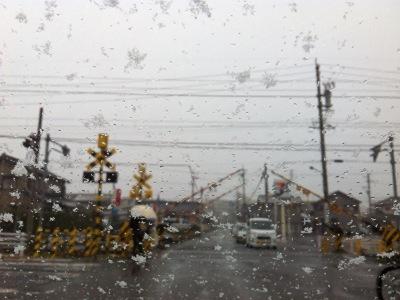 2012年12月10日 雪の朝