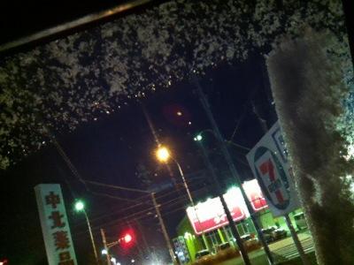 2013年1月26日の雪
