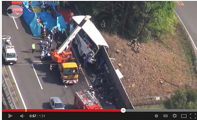 夜行バス事故 関越道