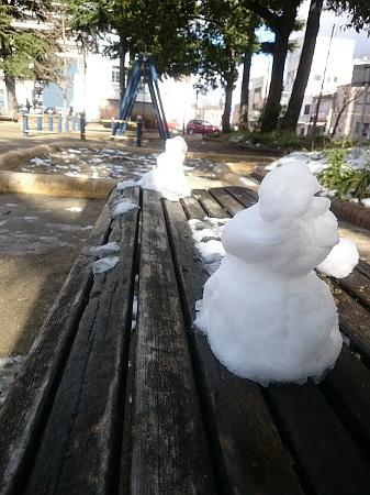 雪だるま 神明公園