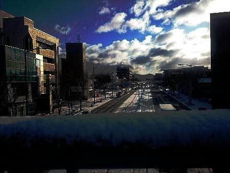 2017年1月15日 雪の朝