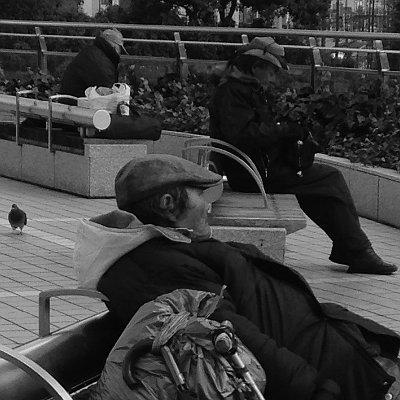 豊橋駅のホームレス