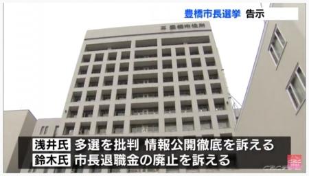 豊橋市長選挙2020