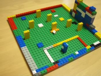 lego baseball