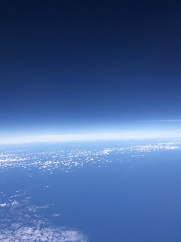 荒木勇人の写真展「SESSION」空の写真