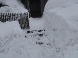 雪かき終了!!
