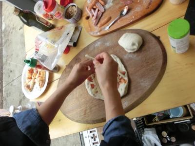 ペレットピザ窯