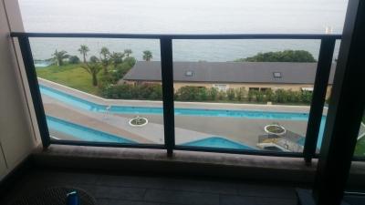 ホテル三日月富士見亭からの景色