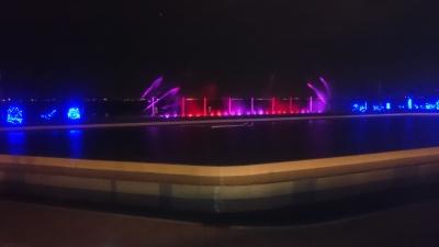 ホテル三日月の噴水ショーの画像