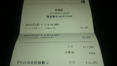 レゴランドジャパンの料金