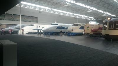 リニア鉄道館の車両展示の画像