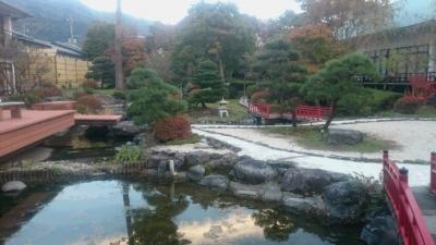 鬼怒川絆の犬も歩ける日本庭園