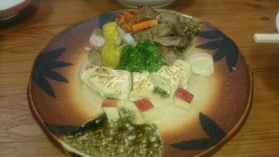 鬼怒川絆の犬用朝食の肉盛り合わせの画像
