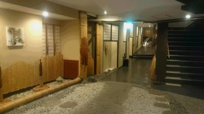鬼怒川絆の館内廊下の画像