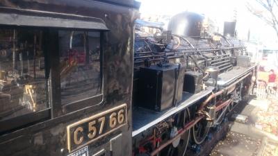 大田区大森にある入新井西公園の機関車の画像