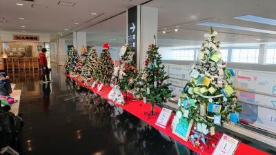 神戸空港のクリスマスツリーの画像