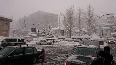1月3日の越後湯沢駅