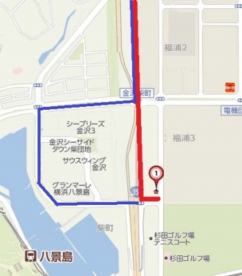 八景島シーパラダイスの駐車場渋滞回避ルート