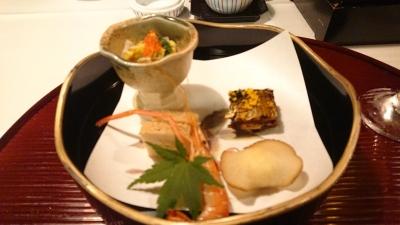レジーナリゾート富士の食事前菜