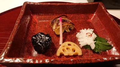 レジーナリゾート富士の食事焼物