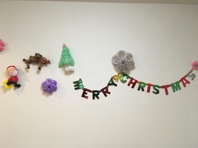 ヤギクリスマス壁