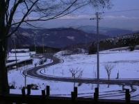 牧場雪景色1