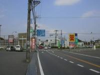 阪井の交差点