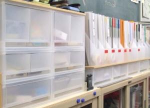 研究室(無印の什器