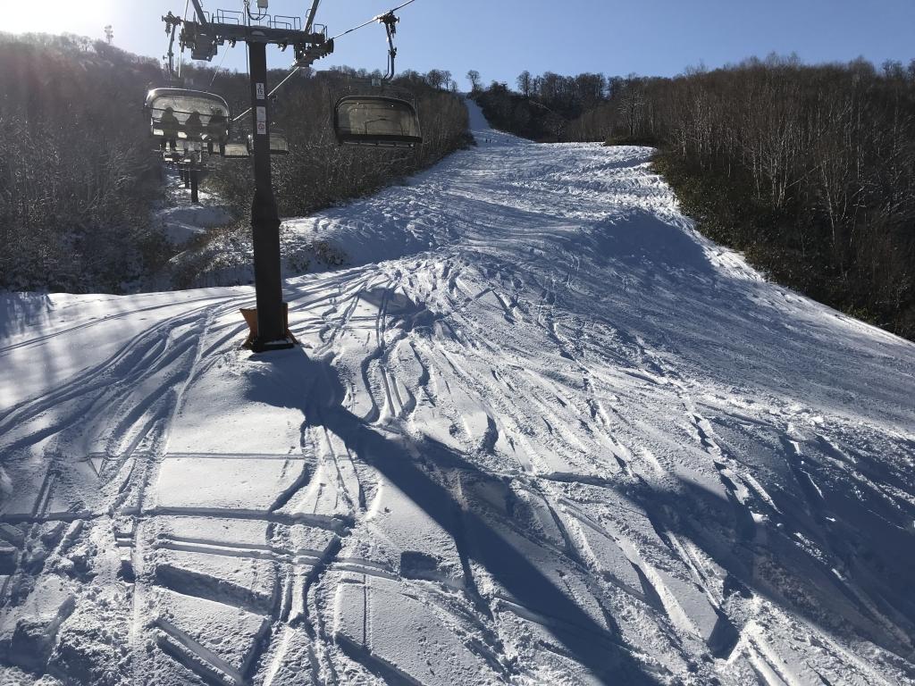 温泉 場 野沢 スキー