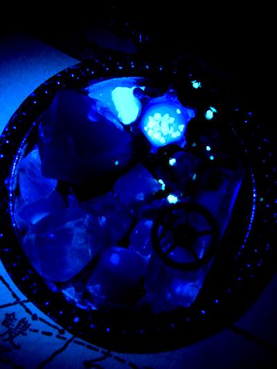 鉱物タルト/青い星