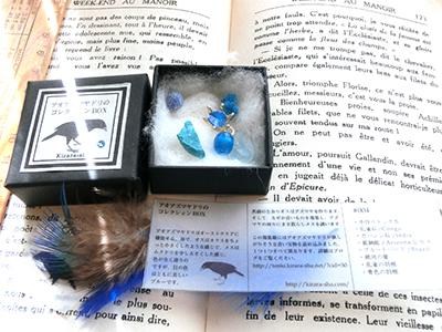 アオアズマヤドリの蒐集箱#004