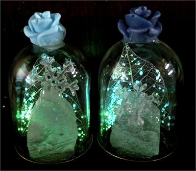浪漫雪晶標本