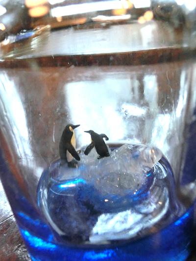 銀河藥壜/流氷上のペンギン