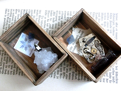 テーマ標本箱/氷山とペンギン