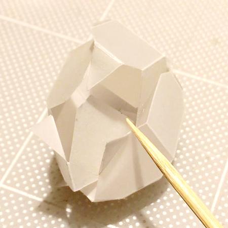 ルーチカ結晶ペーパークラフト